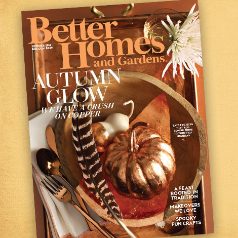 Better Homes & Gardens October 2016 Issue photo