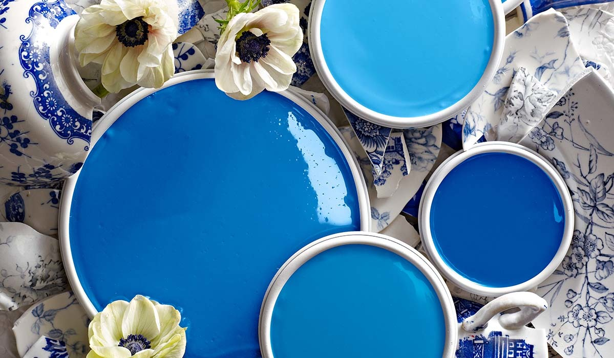 Color: Delft Blues