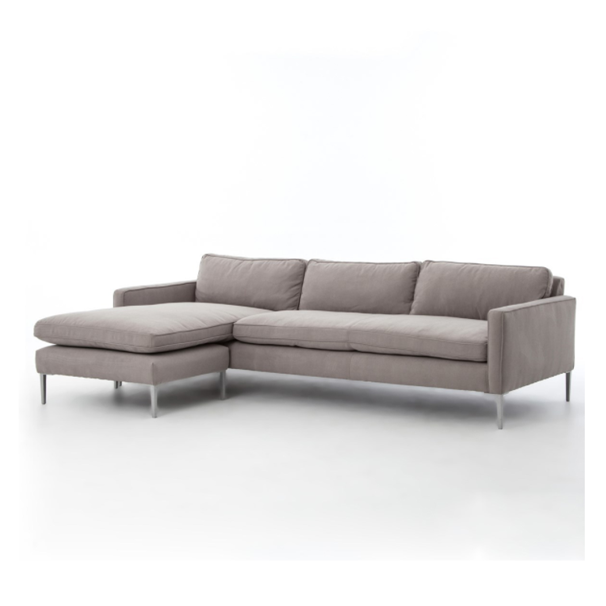 Living Room: Sherbrooke Flip Sofa in Twill Pewter photo