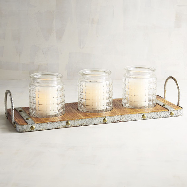 Rustic Candles photo