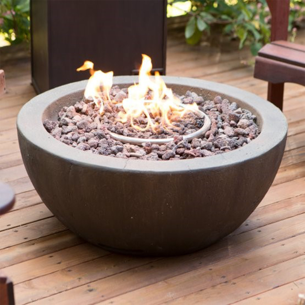 Hayneedle gas fire pit bowl photo
