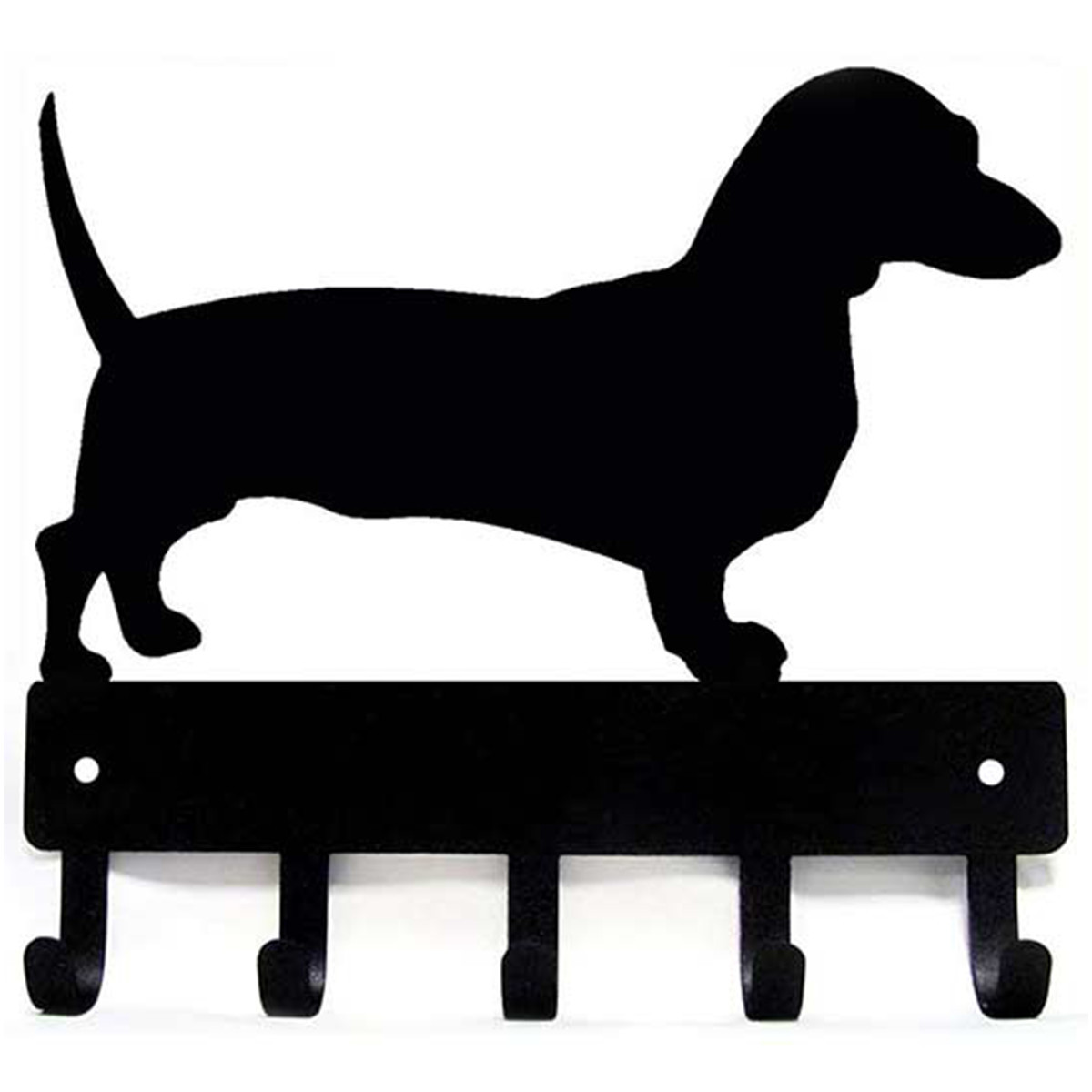 Amazon key and leash holder with dachshund on it photo