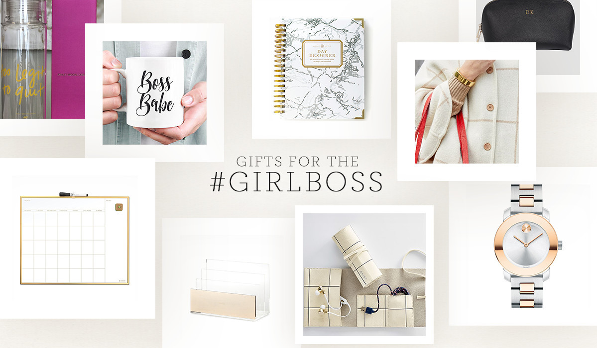 12 Gift Ideas for The #GirlBoss In Your Life