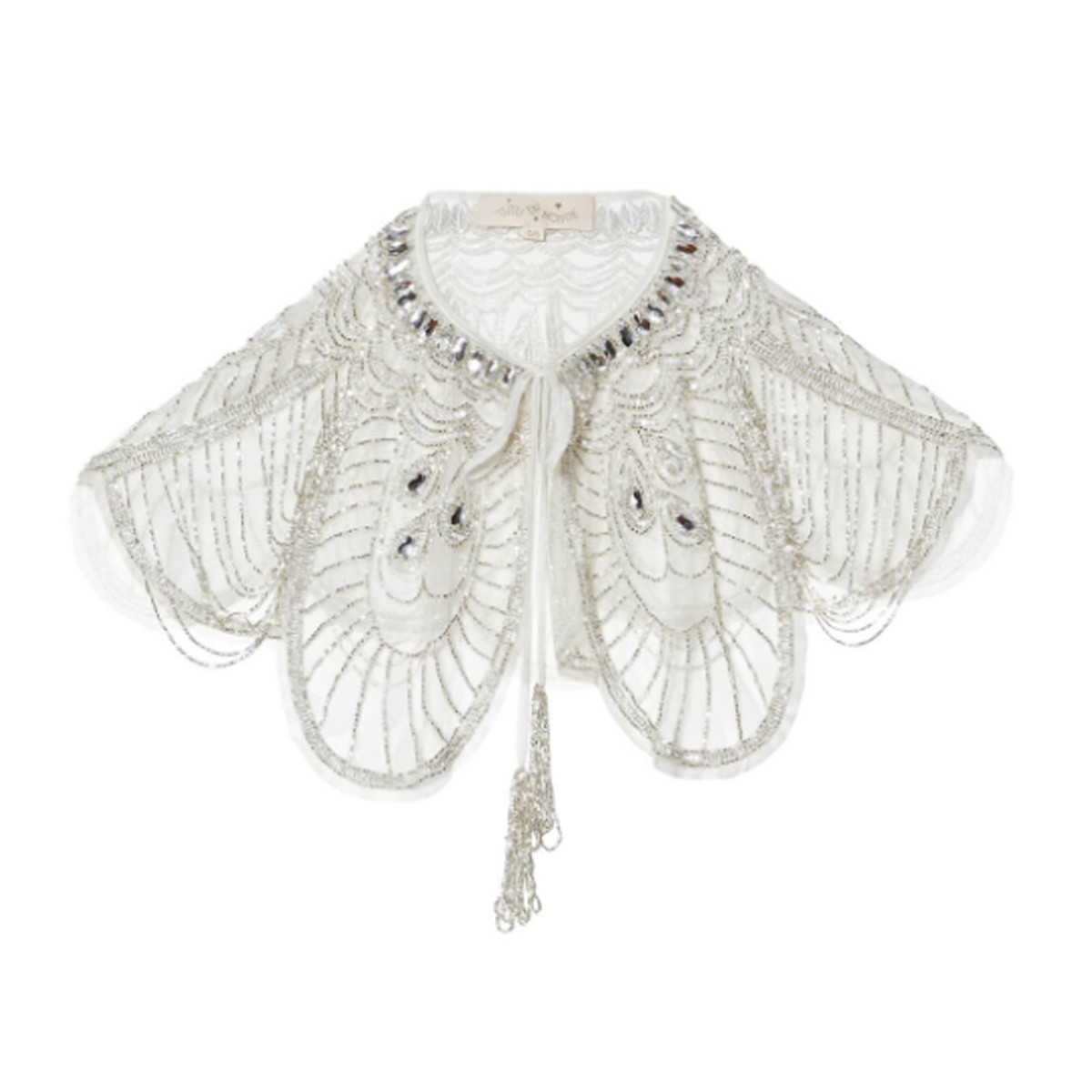 Image of a cape for a flower girl photo