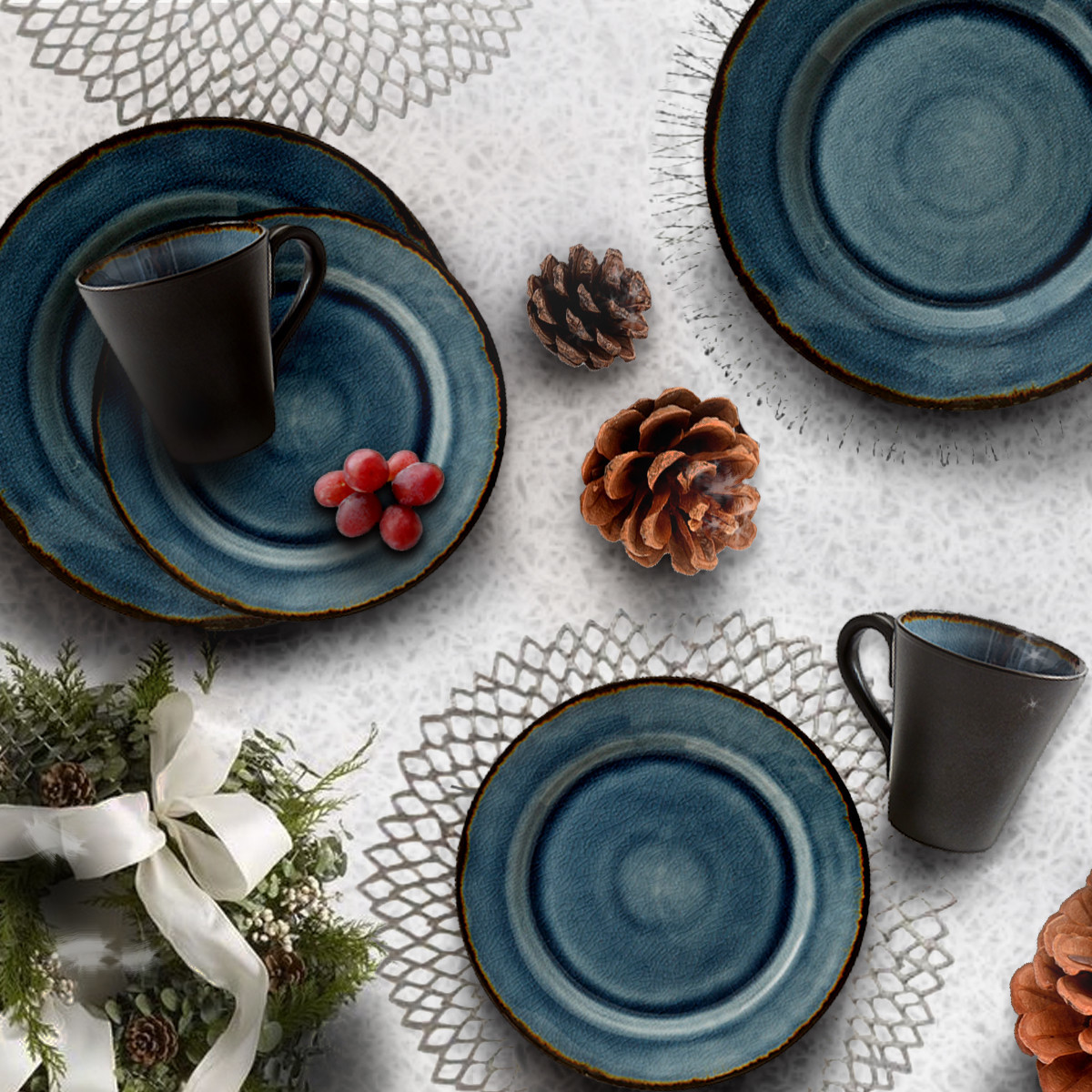 Create a Wonderful Winter Tablescape photo