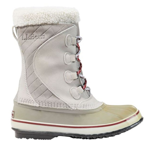 Lace-up snow boots from L.L. Bean photo