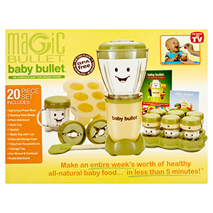 Baby Bullet Baby Food Maker Set photo