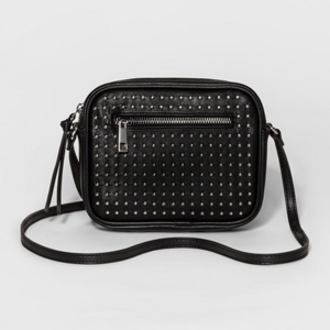 small leather studded shoulder bag from Target photo