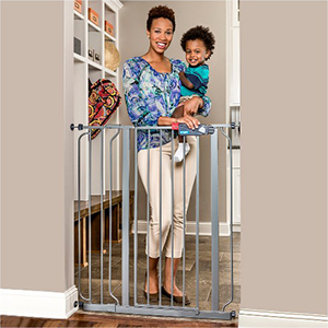 Tall, Walk-Through Baby Gate photo