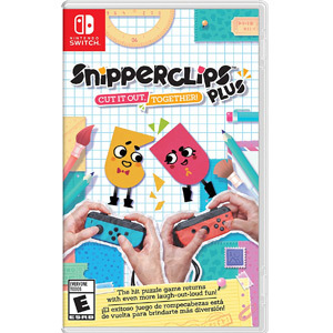 Nintendo Switch game Snipperclips Plus from GameStop photo