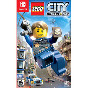 LEGO City Undercover case from GameStop photo