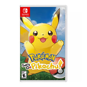 Nintendo Switch game Pokemon Let's Go: Pikachu from GameStop photo
