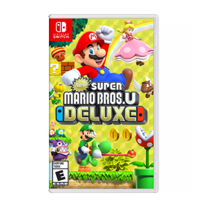 Nintendo Switch game Super Mario Bros Deluxe from GameStop photo