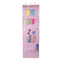24 Pockets Home Clear Over-Door Hanging Bag photo