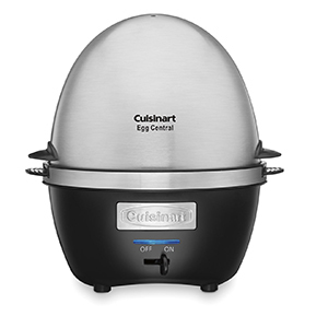 Stainless steel egg cooker by Cuisinart photo