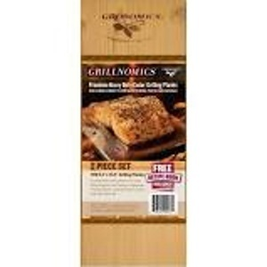 Pack of 10 cedar planks for cooking photo