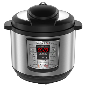 Stainless steel Instant Pot with an 8-quart pot photo