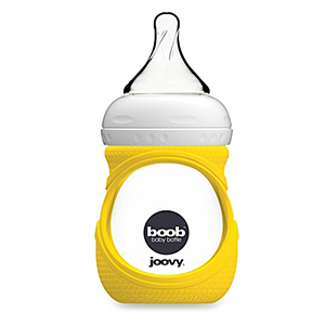 Joovy Boob Glass Bottle and Silicone Sleeve photo