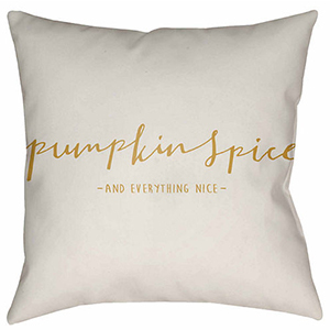Cute plush throw pillow you can easily add to your sofa when fall rolls around. photo