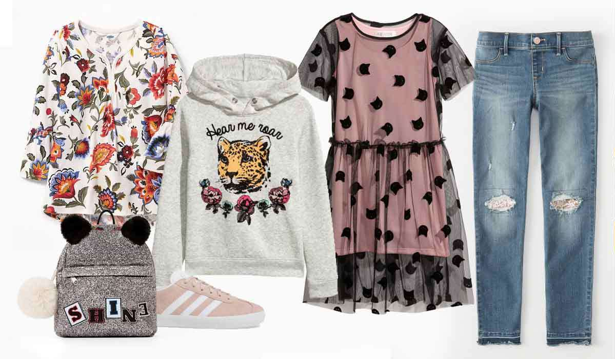 Cool Clothes Your Teen & Tween Girls Won't Believe You Picked Out