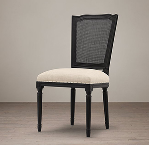 Dining Room: Vintage French Nailhead Dining Chair photo