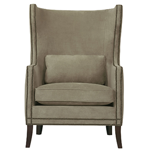 Kingston Fabric Wing Chair photo