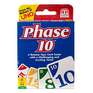 Phase 10 Card Game photo