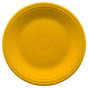 Daffodil Yellow Fiesta Dinner Plate photo