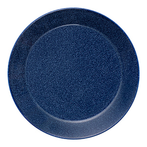 Dotted Blue Teema Plate photo