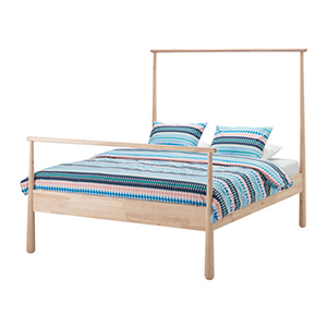 <strong>Bedroom Image: Gjora Bed Frame</strong> photo