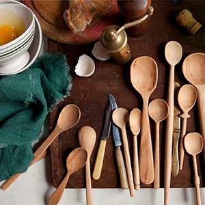 Baker's Dozen Wood Spoons photo