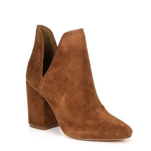 Brown cutout bootie from Steve Madden photo