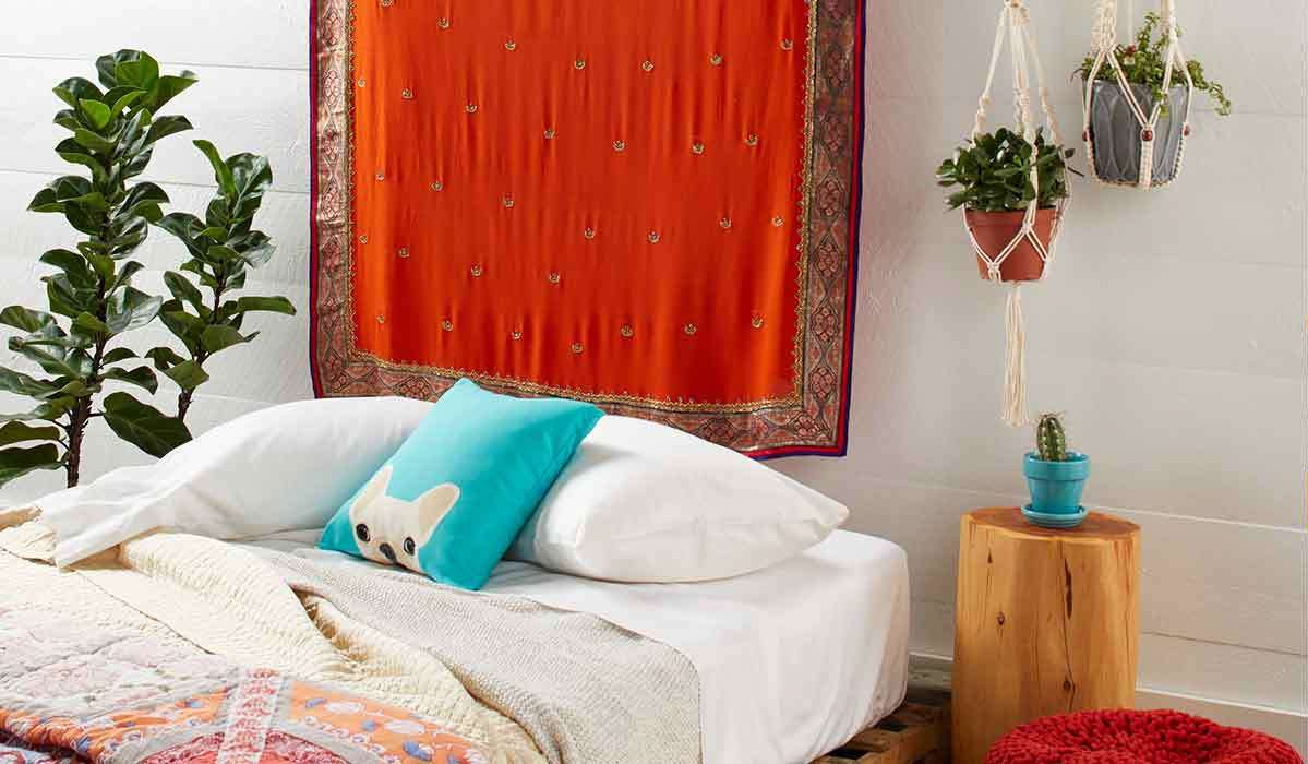 Eclectic Bedroom Finds for the Boho Teenager