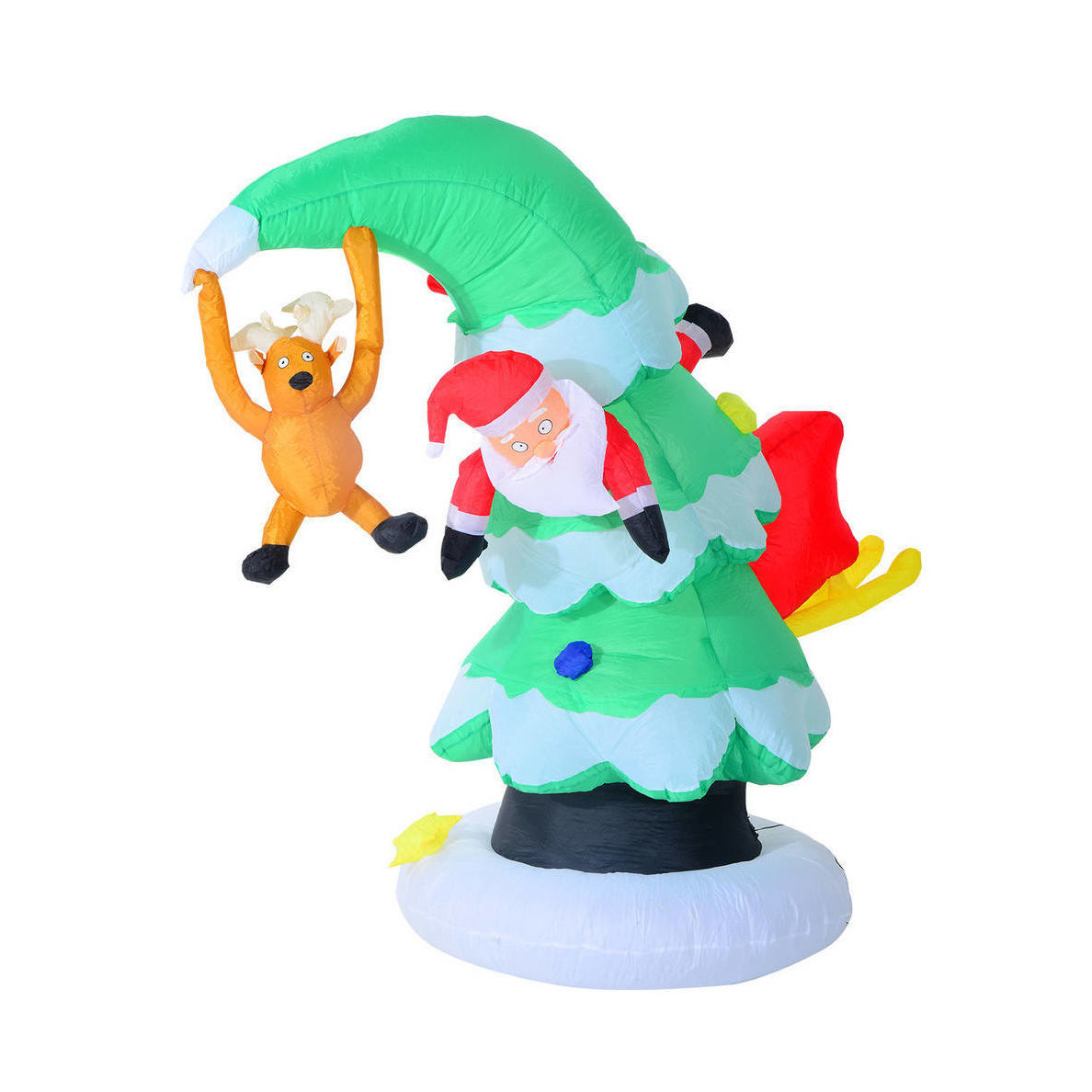 Houzz inflatable outdoor Christmas decoration photo