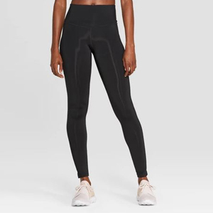 Black C9 Champion high-waist leggings from Target. photo