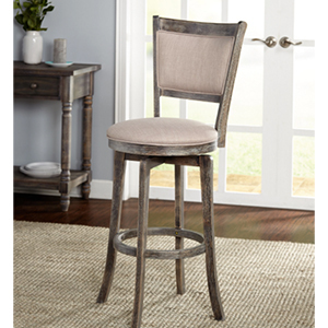 Barstool with swivel base from Overstock photo