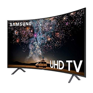 Samsung Curved Ultra HD Smart TV photo