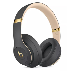 Gray and gold Beats wireless over-ear headphones from Target photo