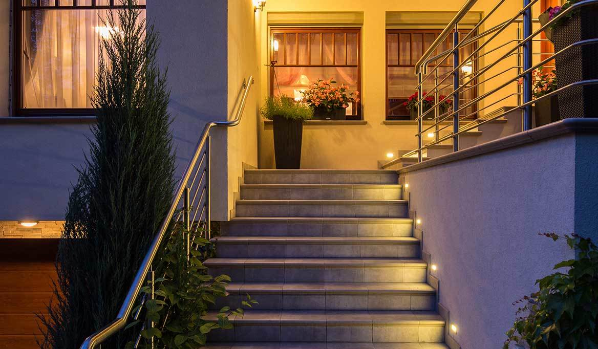 Best Landsape Lighting Of 2018 Bhg Wiring Led Landscape Lights A Good Design For Is To Light Your Driveway Entryways Pathways Stairways And Patio Areas