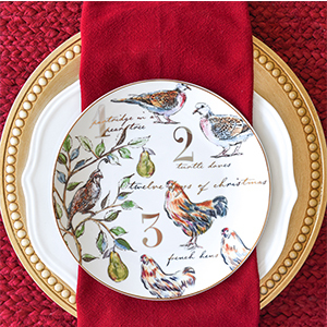 Christmas plate from Better Homes & Gardens photo