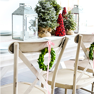 Better Homes and Gardens Collin Distressed Dining Chairs photo