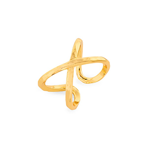 Gold stack ring photo