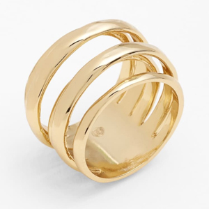 Gold ring from Nordstrom photo