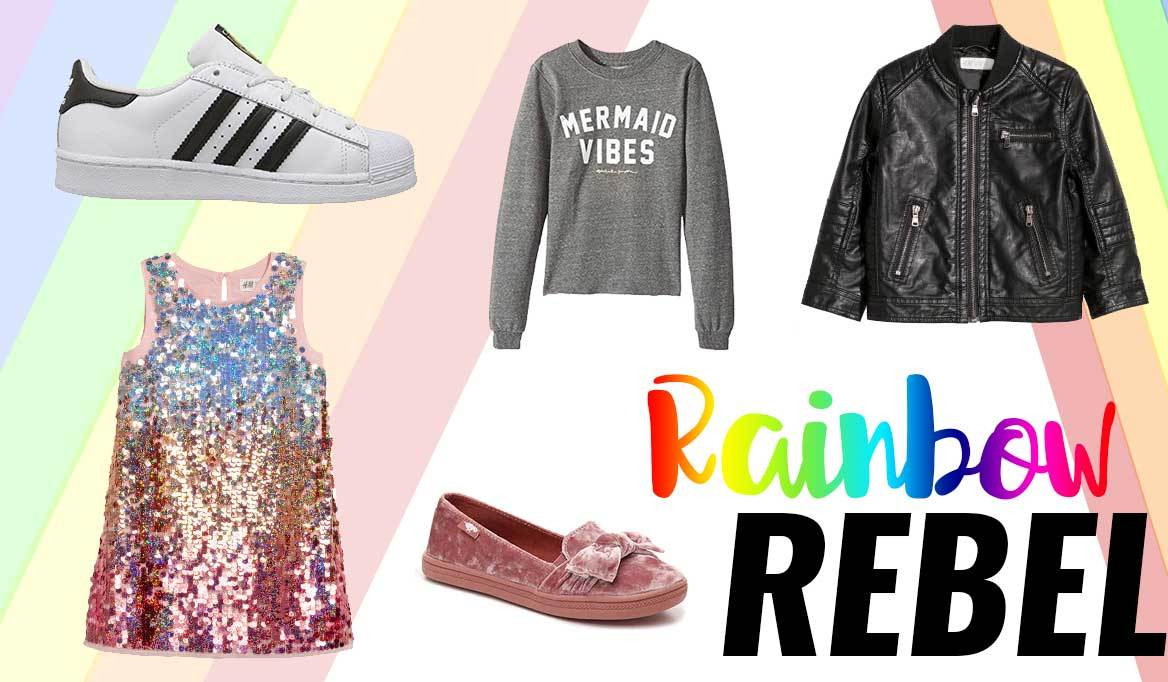 Rainbow Rebel: 6 Fairytale-Inspired Outfits Your Child Will Love