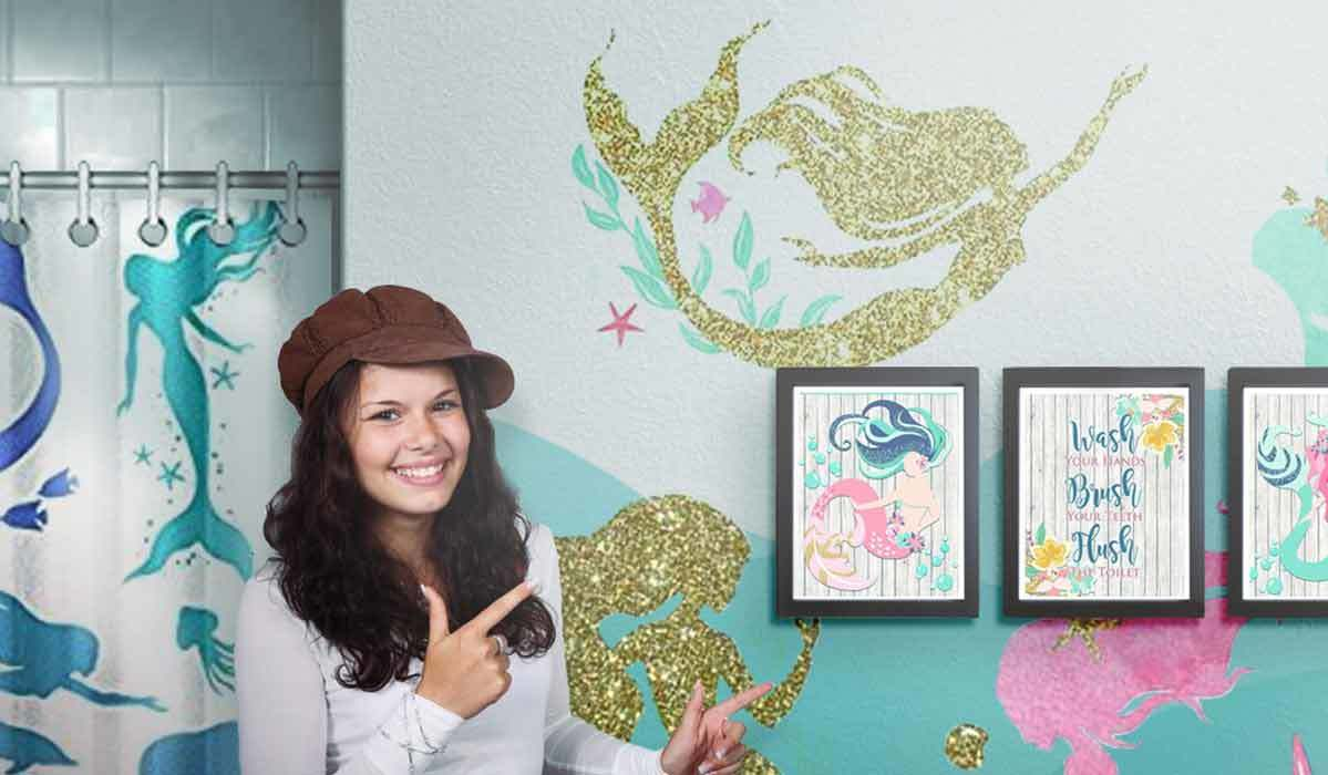 How to Create the Ultimate Mermaid-Theme Bathroom for Your Kiddos