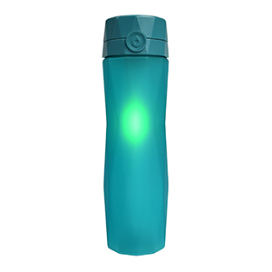 Blue Hydrate Spark 2.0 water bottle. photo