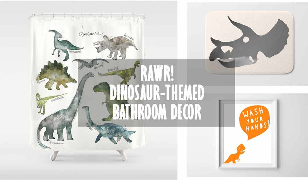 RAWR! How to Create a Dinosaur-Theme Bathroom
