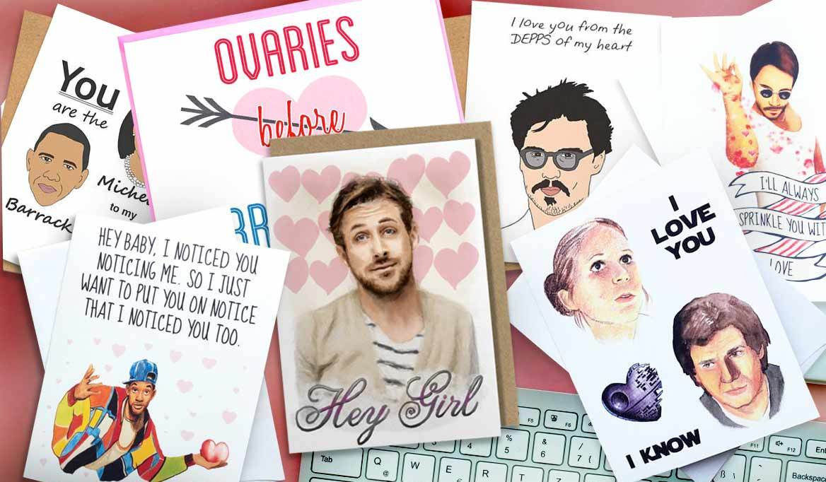 Pop Culture Valentine's Day Cards That Will Get a Laugh