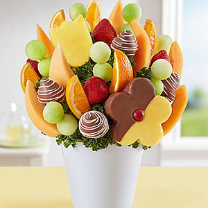 Bouquet of fruit and chocolate from 1-800 Flowers photo