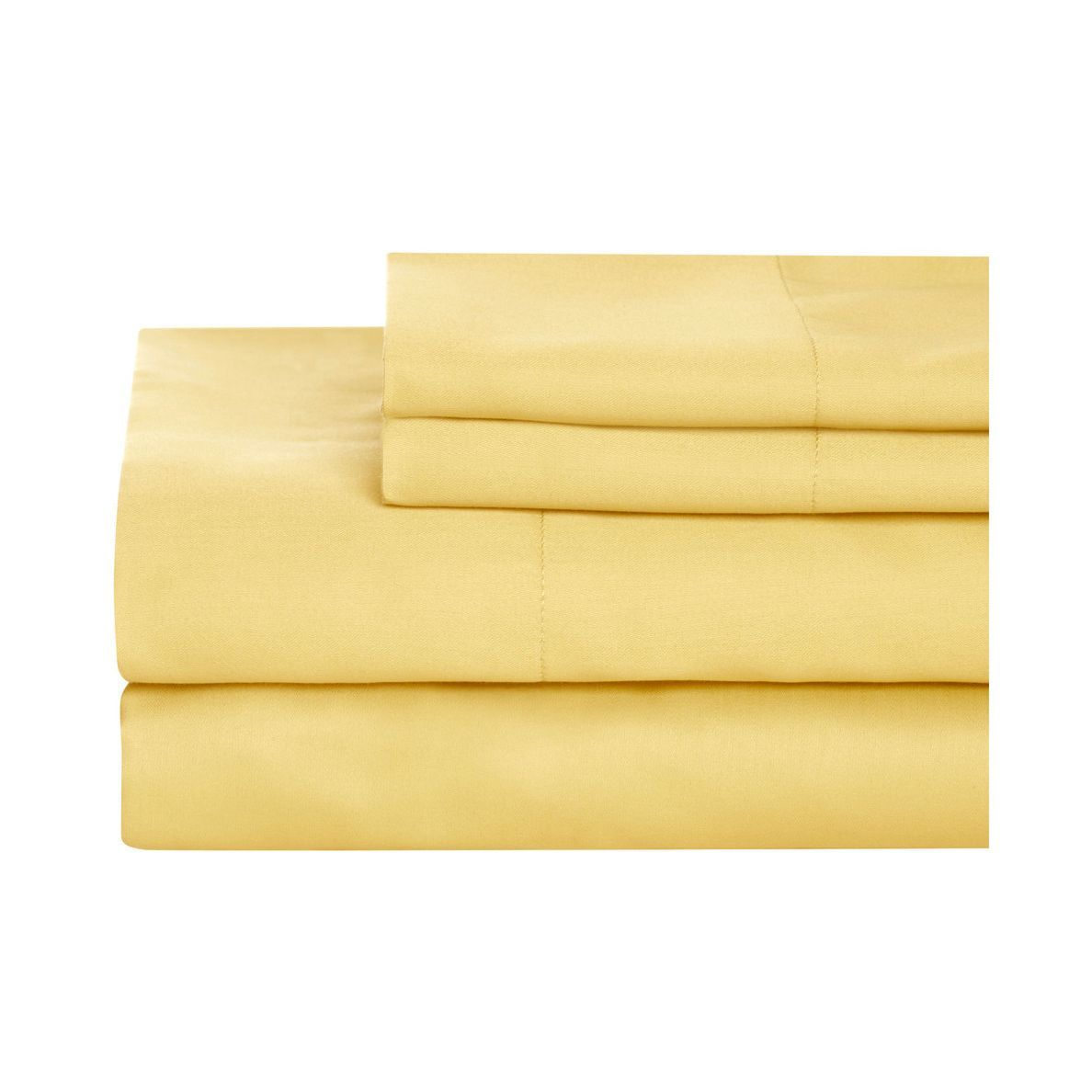 Houzz cotton sheets in yellow photo